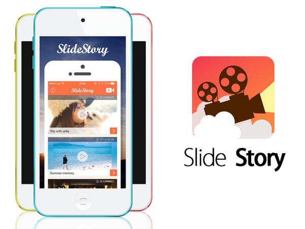 Android版の動画保存アプリ Slide Story