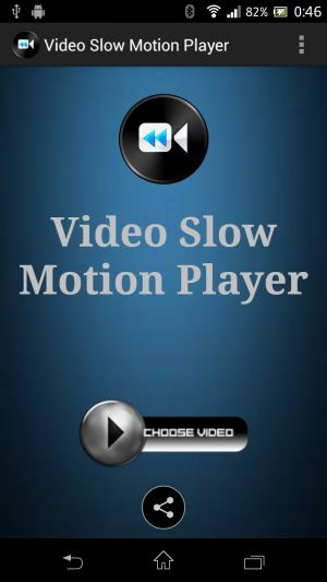 Android動画再生速度 Video Slow Motion Player
