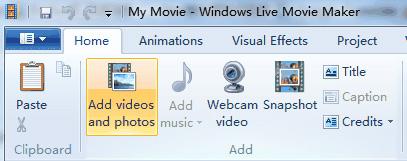 Windows Live ムービーメーカー