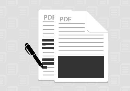 PDFの墨消し