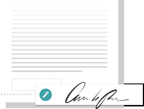 カスタム署名で PDF に署名