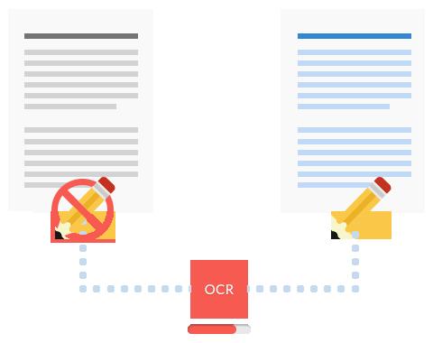 OCR でテキストをデジタル化
