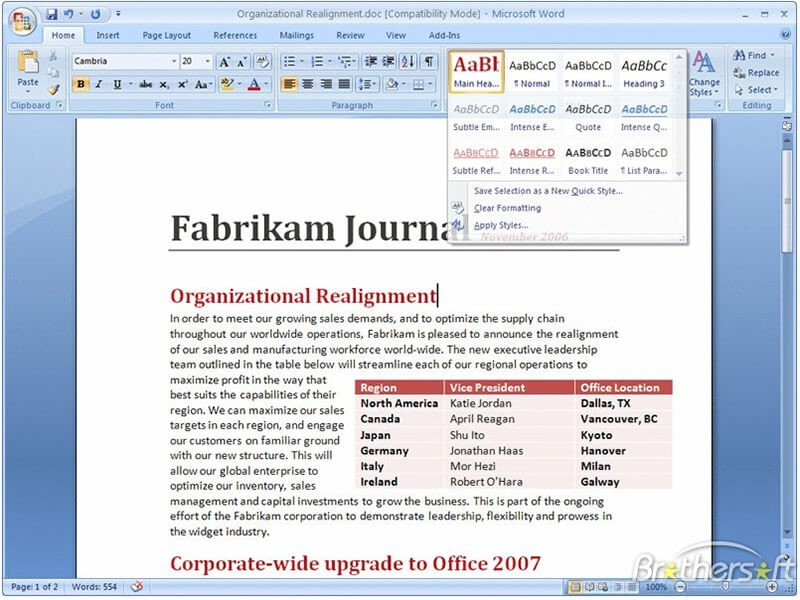 Microsoft Office PDFエディタ
