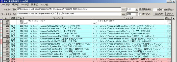 PDF比較ツアプリ