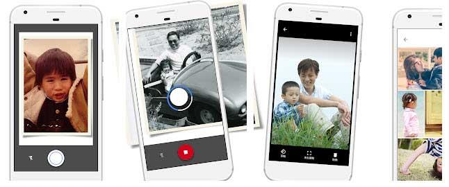 写真スキャンアプリ