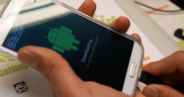 Galaxy S4をルート化