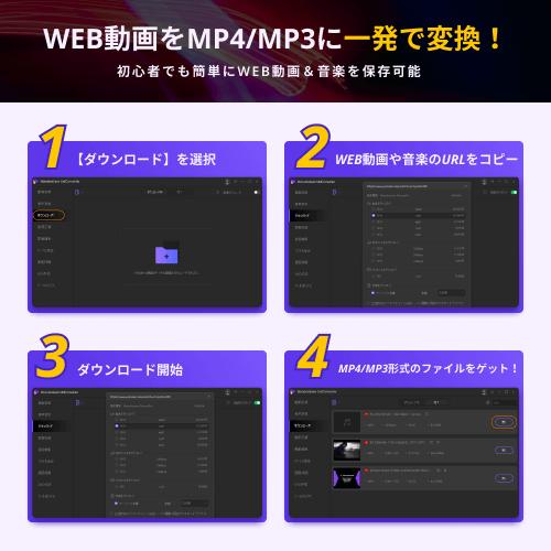 Web動画ダウンロードソフト