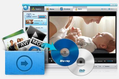 ブルーレイ・DVD簡単作成!