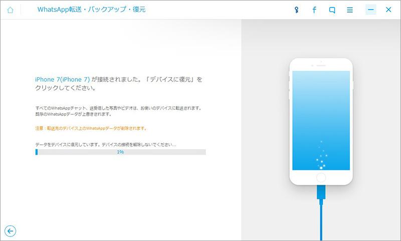 削除されたワッツアップ アプリメッセージをiPhoneに復元する