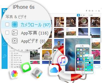 iPhoneデータ復元ソフト